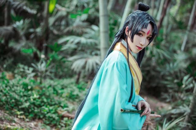 【cosplay】狐妖小红娘东方淮竹cos美图壁纸图片