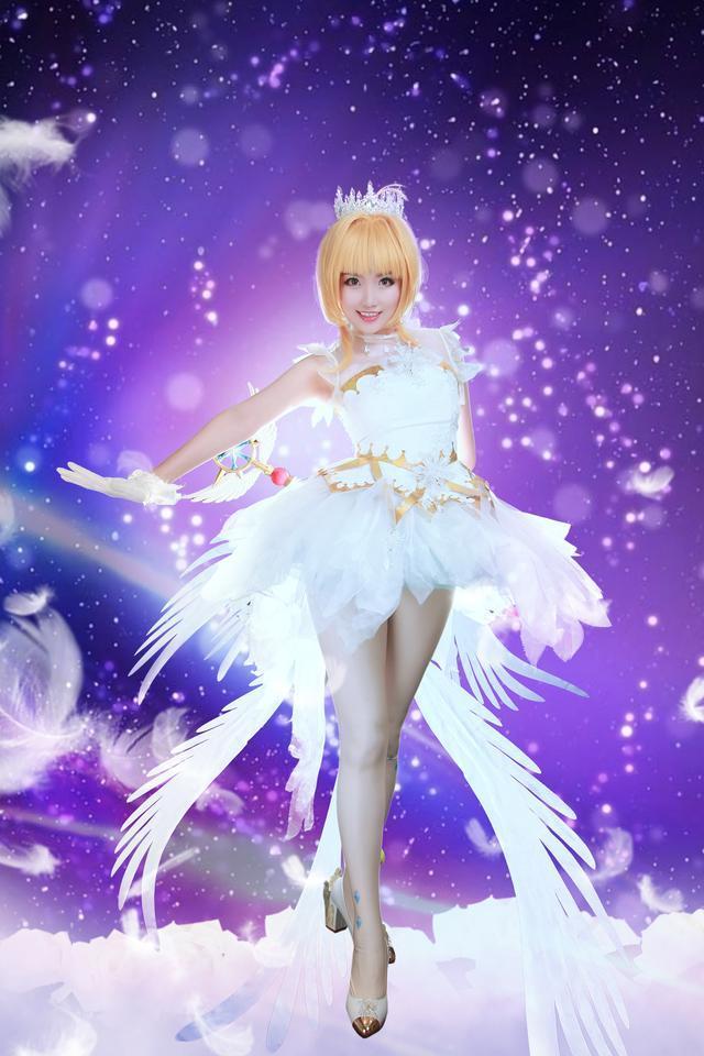 【cosplay】超甜的木之本樱本子cos图片壁纸