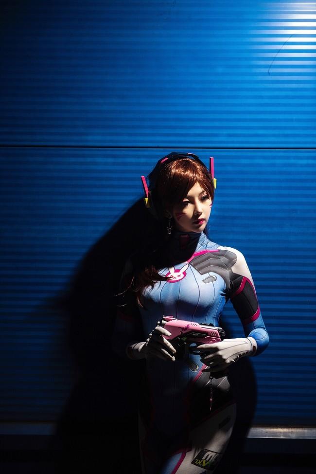 【cosplay】守望先锋露兒大魔王cos图片壁纸