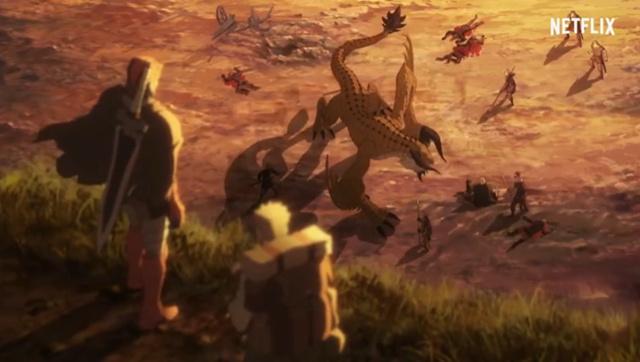 Netflix公开《DOTA:龙之血》最新PV 3月25日播出
