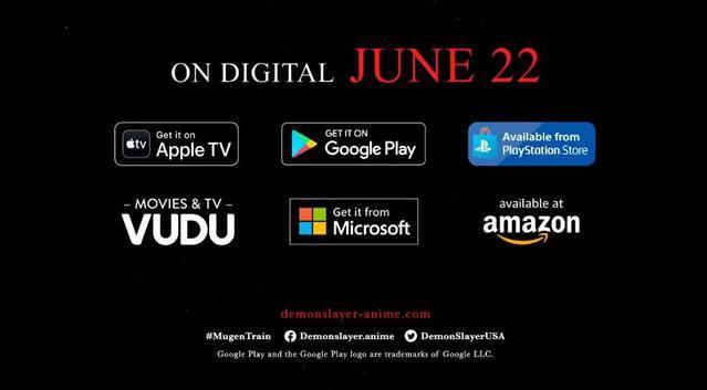 《鬼灭之刃:无限列车篇》北美地区上映宣传PV公开