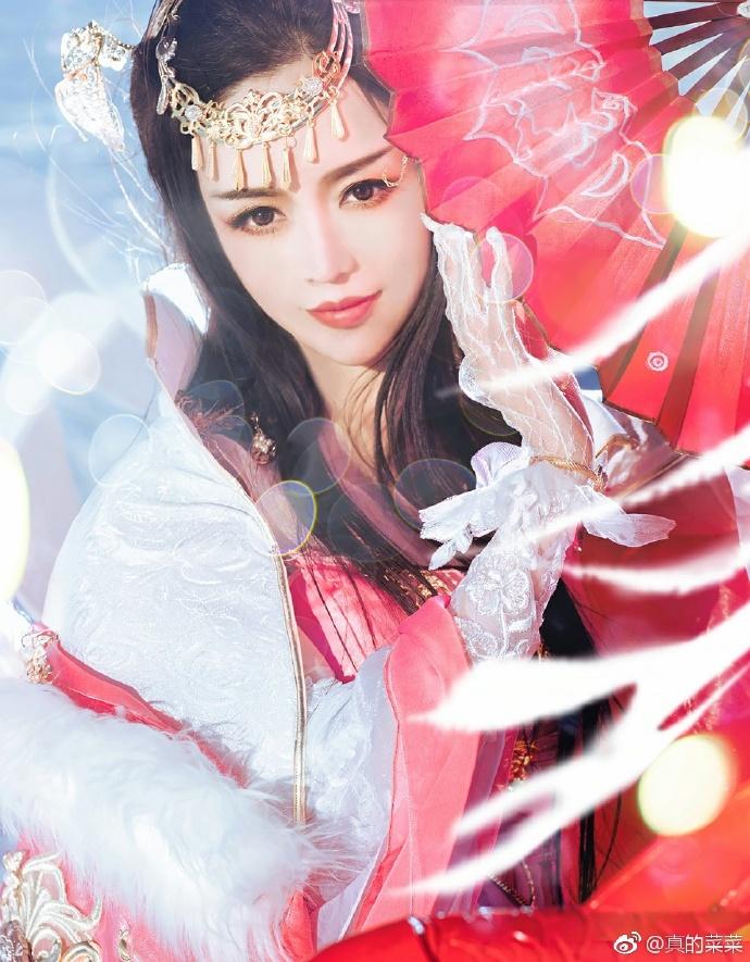 【cos正片】披风礼盒 陌上窈窕《剑网三》藏秀cosplay欣赏 cosplay-第1张