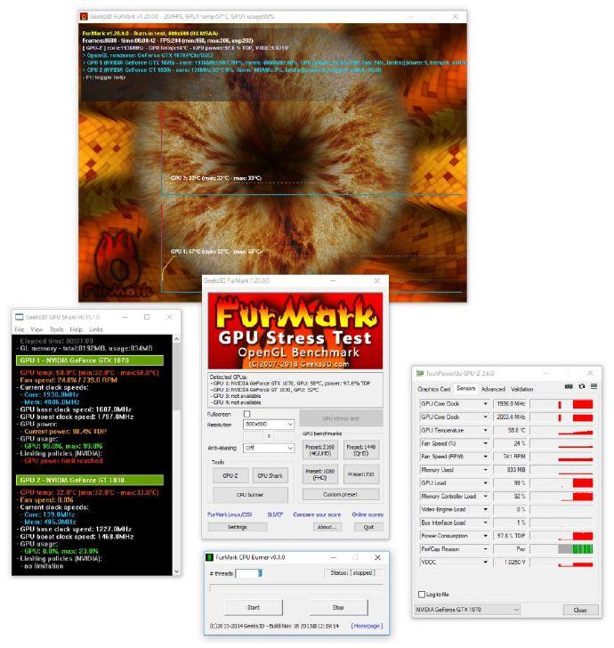 显卡烤机软件Furmark 1.20.0.1