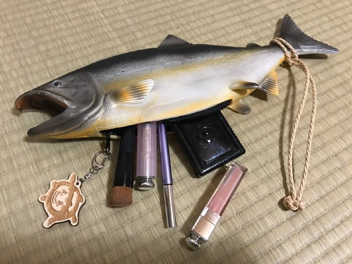鲑鱼包,带条鱼出门很吸睛哦