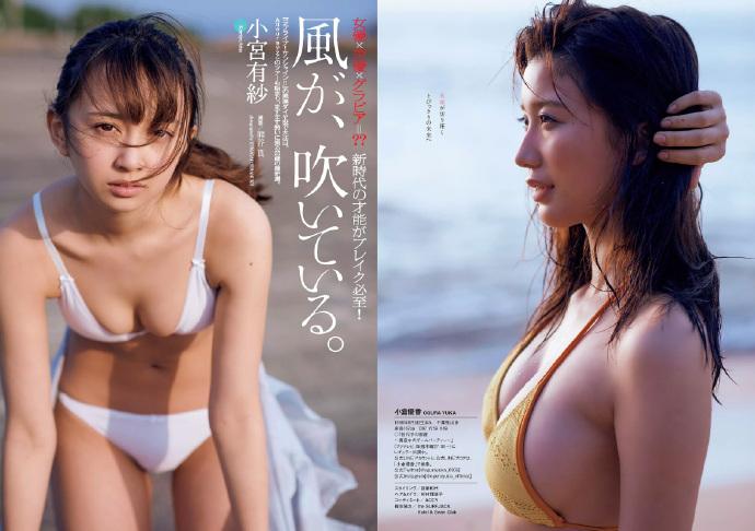Weekly Playboy 马场富美加 武田玲奈 浅川里奈 小宫有纱 仲村美雨