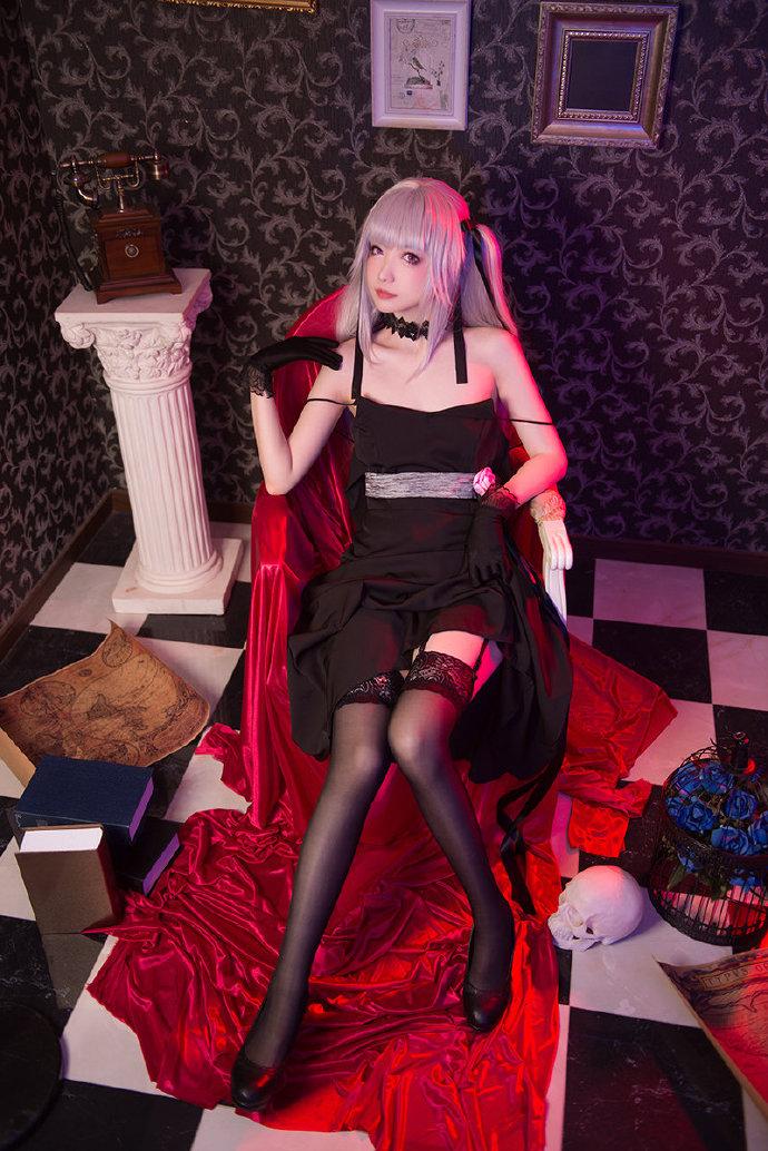 cosplay《美少女万华镜》篝之雾枝 好性感的黑丝美腿