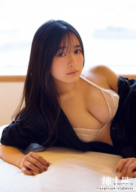 化身小女人的21岁美少女早川渚纱写真照片 网络美女 第14张