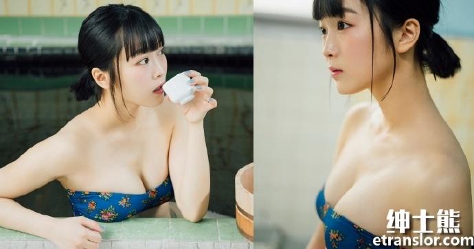 女团队长中川美优首次挑战泳装写真 网络美女 第1张