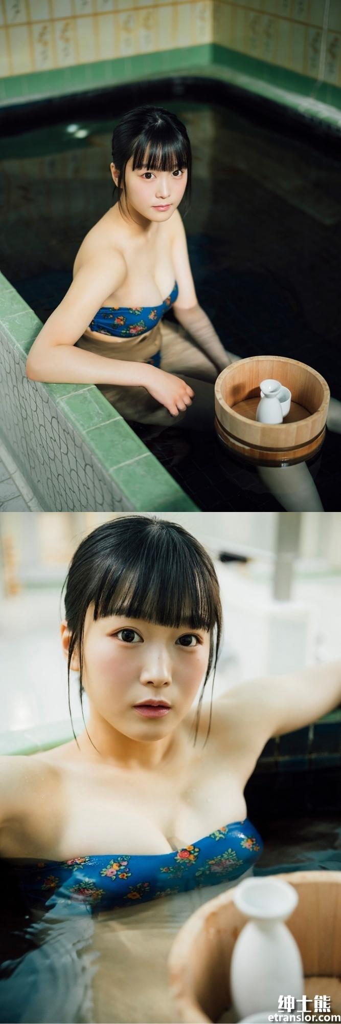 女团队长中川美优首次挑战泳装写真 网络美女 第9张