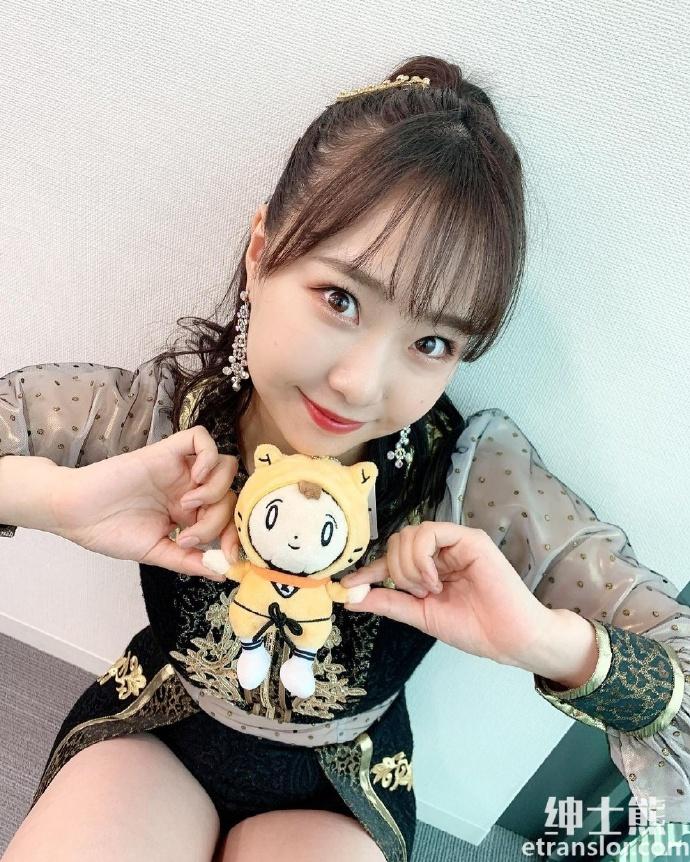 NMB48偶像加藤夕夏肉嘟嘟很可爱,蹦蹦跳跳活力无限 养眼图片 第3张