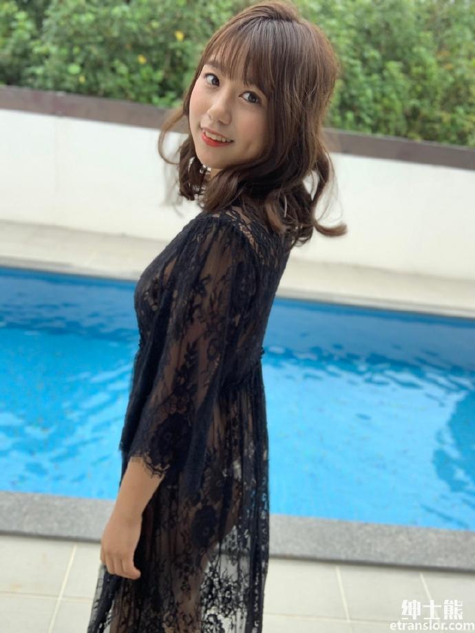 从NMB48 毕业后进军写真界的冲田彩华 网络美女 第3张