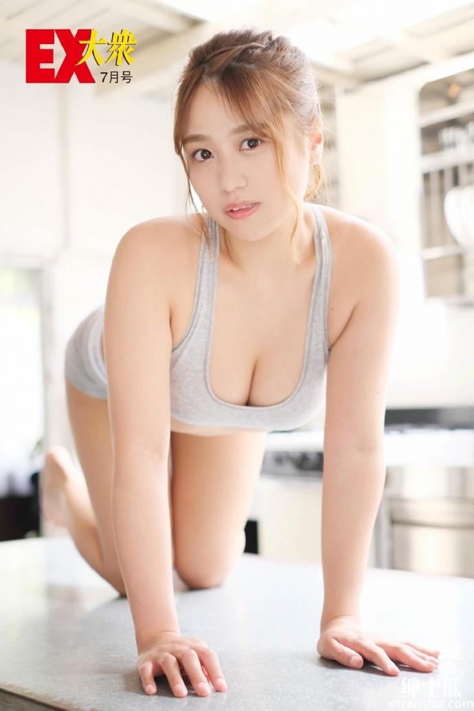 从NMB48 毕业后进军写真界的冲田彩华 网络美女 第20张