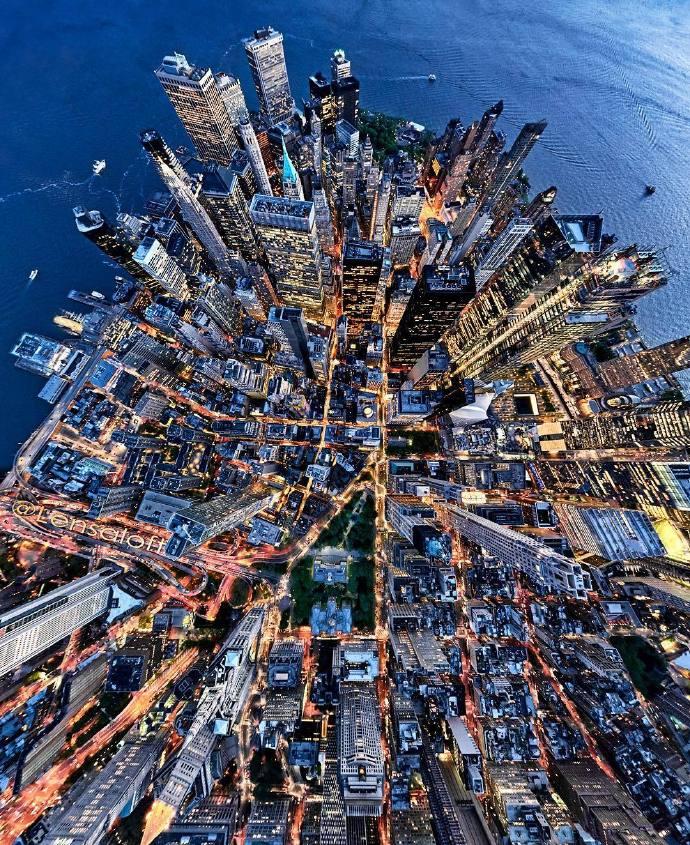 摄影师Andrew Griffiths航拍的纽约、巴塞罗那和墨尔本三颗城市星球https://www.hiquer.com