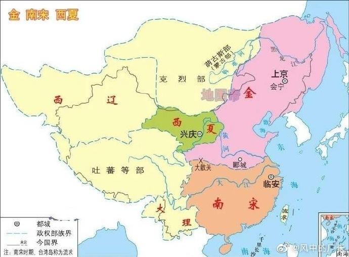 """最近出了个""""投资不过南宋""""图,想到上海外滩的故事"""
