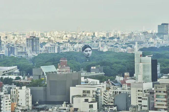 日本公园出现了一个巨大的人头造型热气球--『游乐宫』Youlegong.com 第4张