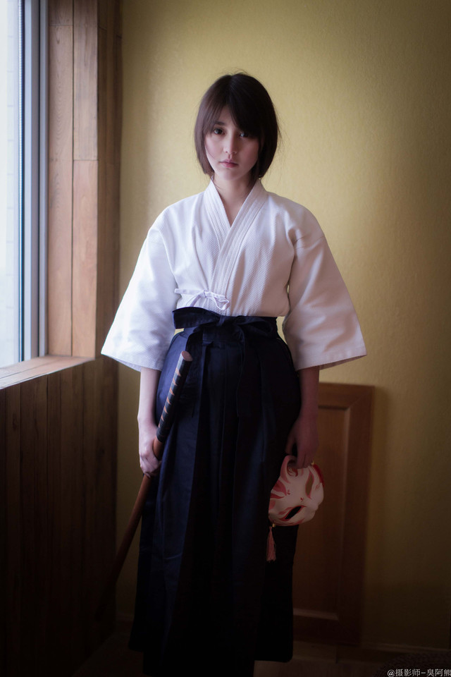 清纯妹子:剑道少女 | 妹子控