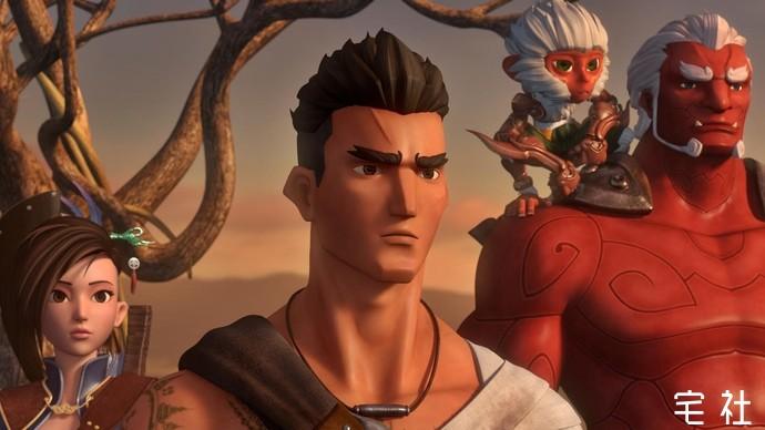 《暹罗决:九神战甲》隐射出泰国文化风情元素的动画 宅男影视