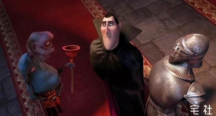 《精灵旅社》吸血鬼对女儿的偏爱也会很任性 宅男影视