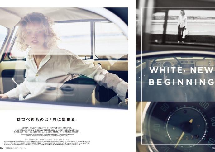 白色单品搭配特辑