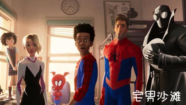《蜘蛛侠:平行宇宙》帕克成为导师,一部关于成长的超级英雄动画电影