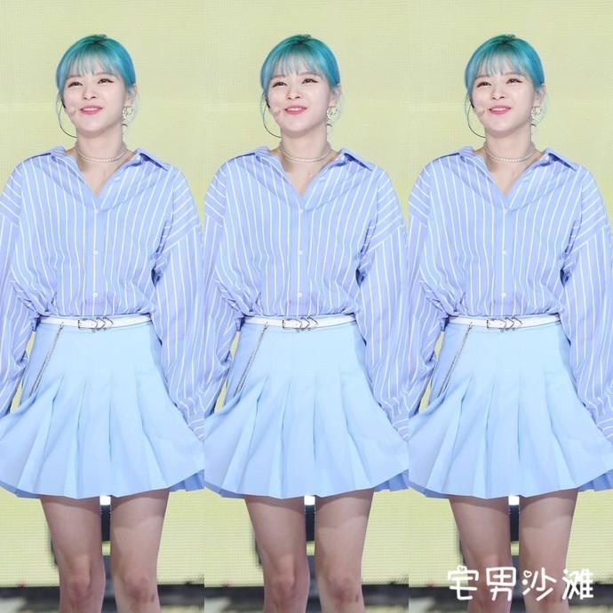 韩国女团Twice成员俞定延(Jeongyeon),想和有趣的人共度余生