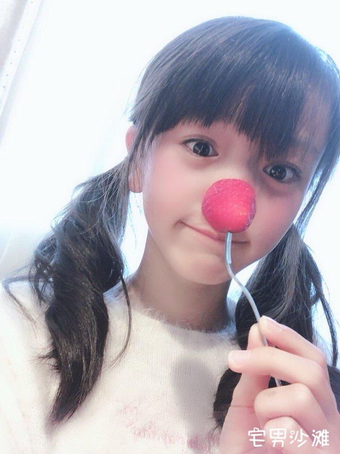 可爱日本樱花妹,少女偶像「村田万叶」,年仅12岁的清纯小萝莉