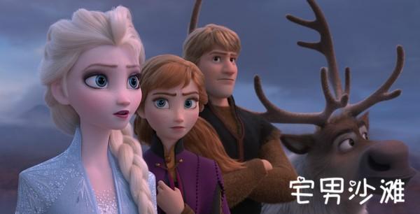 迪士尼动画电影《冰雪奇缘2》预告片来袭,《海贼王》的另一个故事?