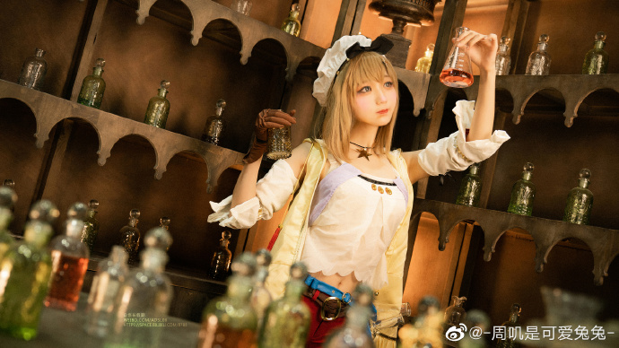今日妹子图20200620 cosplay明日方舟 黑色浪漫 liuliushe.net六六社 第11张