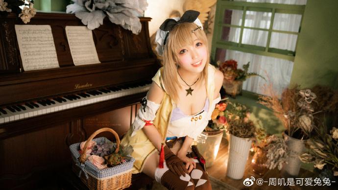 今日妹子图20200620 cosplay明日方舟 黑色浪漫 liuliushe.net六六社 第3张