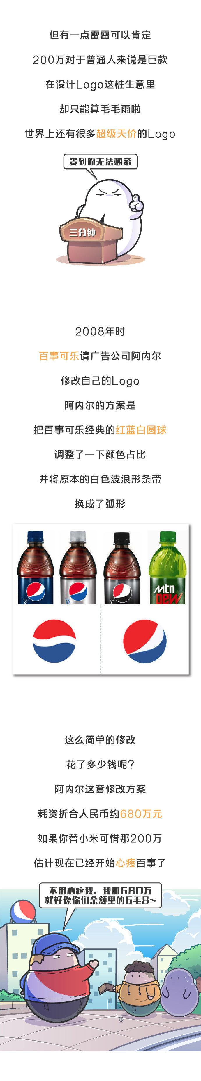 小米200万的新logo是被骗了吗?这个价值17亿的logo有话要说…
