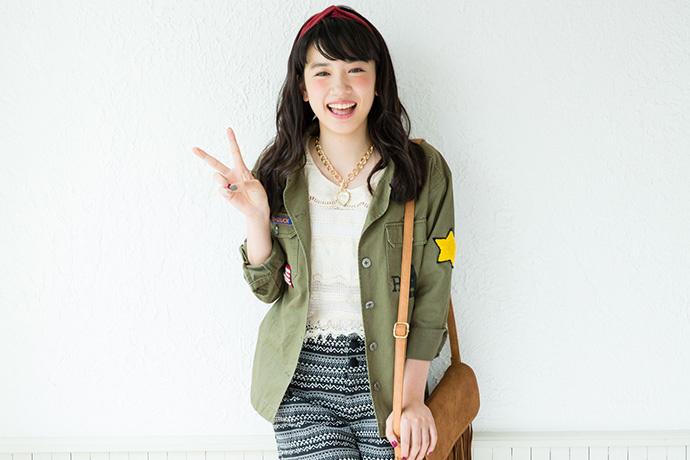 有着治愈系甜美笑容的美少女 永野芽郁