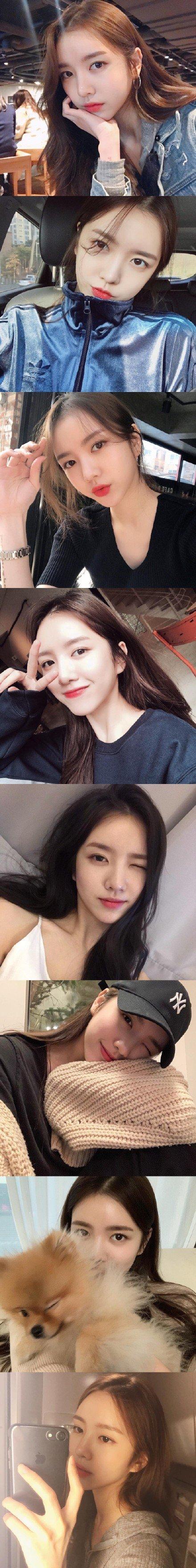 妹子图:Yerinxk,超好看的韩系小姐姐 涨姿势 第2张