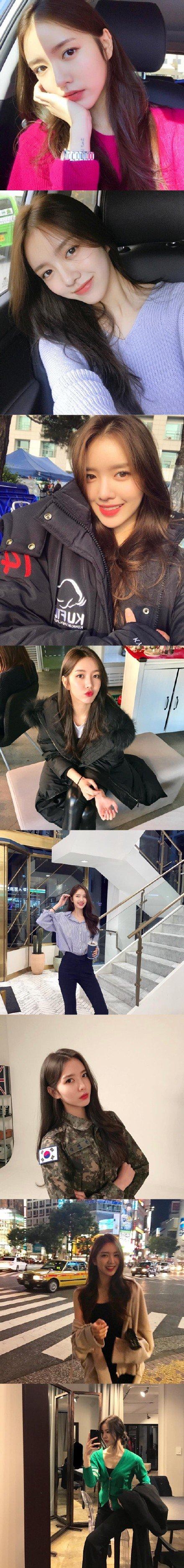 妹子图:Yerinxk,超好看的韩系小姐姐 涨姿势 第1张
