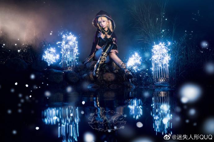 Cosplay艾蕾什基伽尔 华美的冥界女神 cosplay 美女cos 第1张
