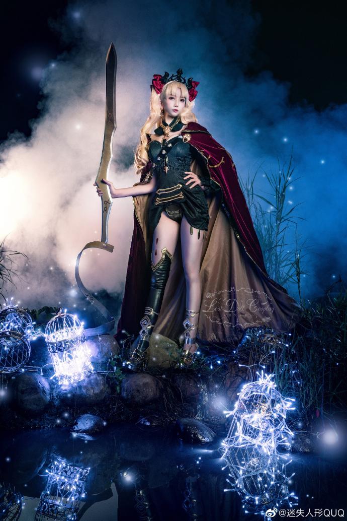 Cosplay艾蕾什基伽尔 华美的冥界女神 cosplay 美女cos 第5张