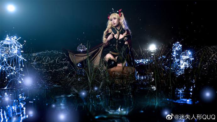Cosplay艾蕾什基伽尔 华美的冥界女神 cosplay 美女cos 第6张