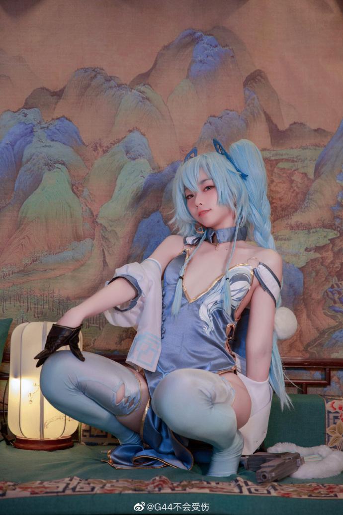 今日妹子图 20200409 微博cosplay** @小明明不要受伤 liuliushe.net六六社 第23张
