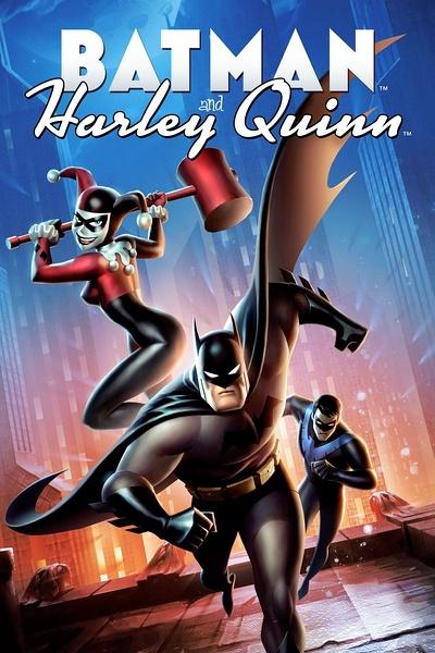 蝙蝠俠與哈莉·奎恩 Batman and Harley Quinn
