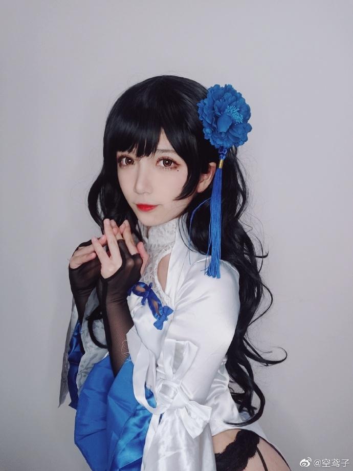 今日妹子图 20200513 碧蓝航线cosplay吾妻 @空鸢子 liuliushe.net六六社 第11张