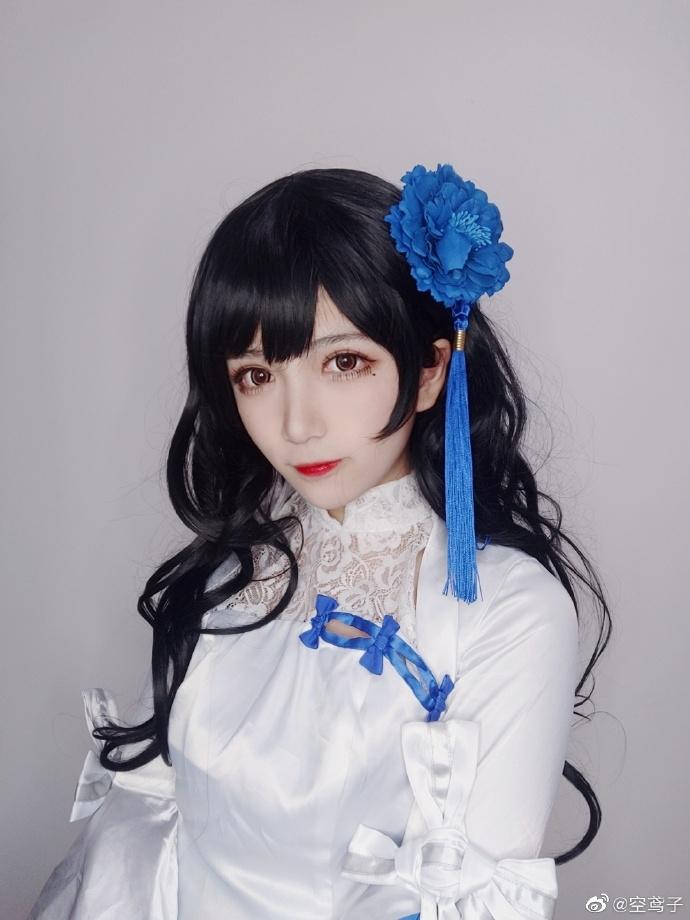 今日妹子图 20200513 碧蓝航线cosplay吾妻 @空鸢子 liuliushe.net六六社 第12张