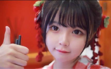 B站妹子@是一只九龄 以可爱为枪,直击你的心脏