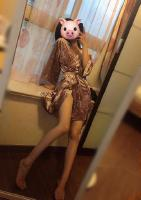 月饼节快乐哈哈哈 话说我瘦了 浴袍都大了