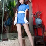 美女模特Avy丝袜美腿写真图片
